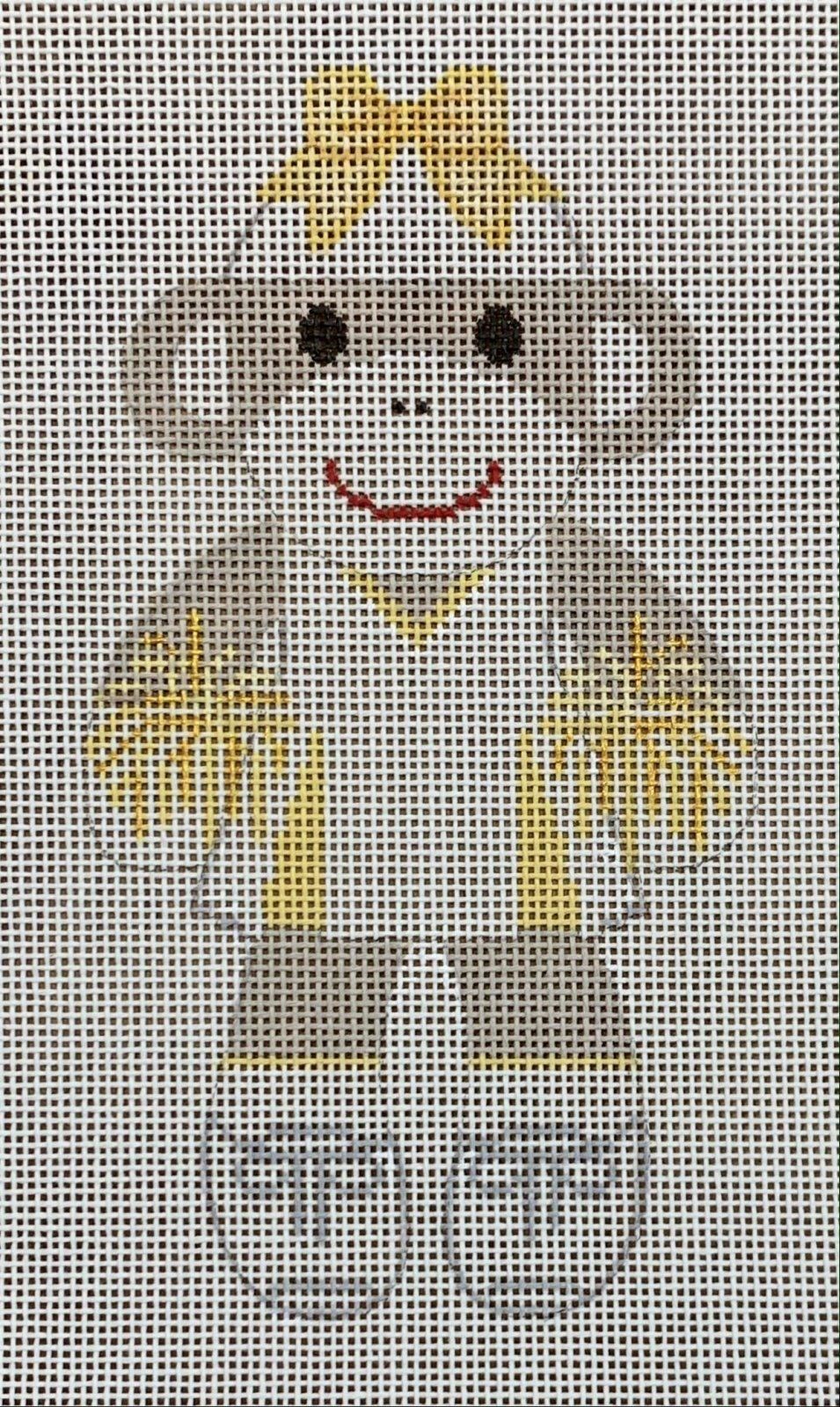 Sock Monkey - Cheerleader - Gold