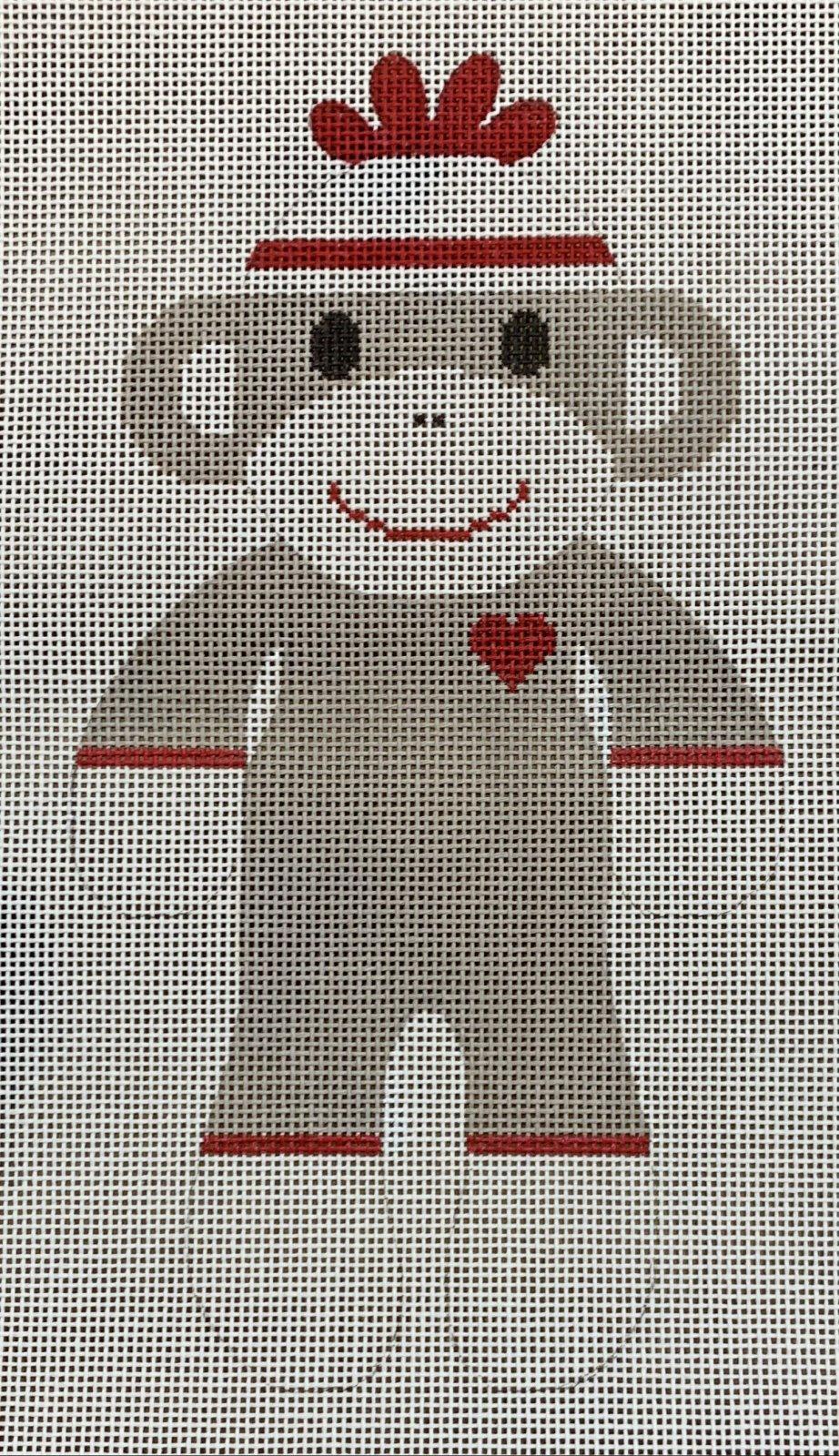 Large Sock Monkey - Original