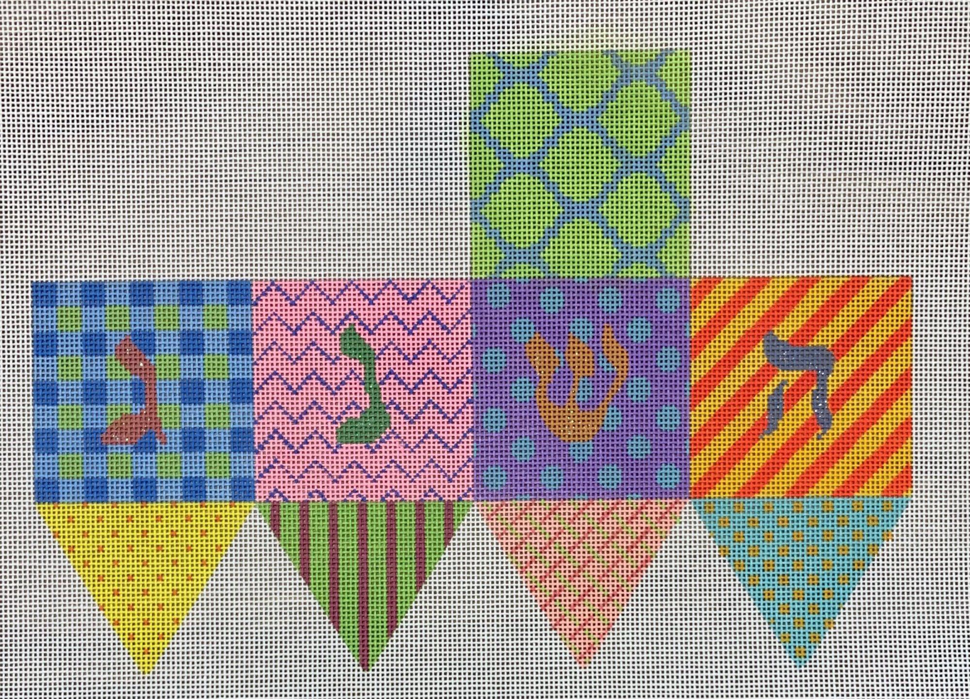 Dreidel - Bright Funky Patterns