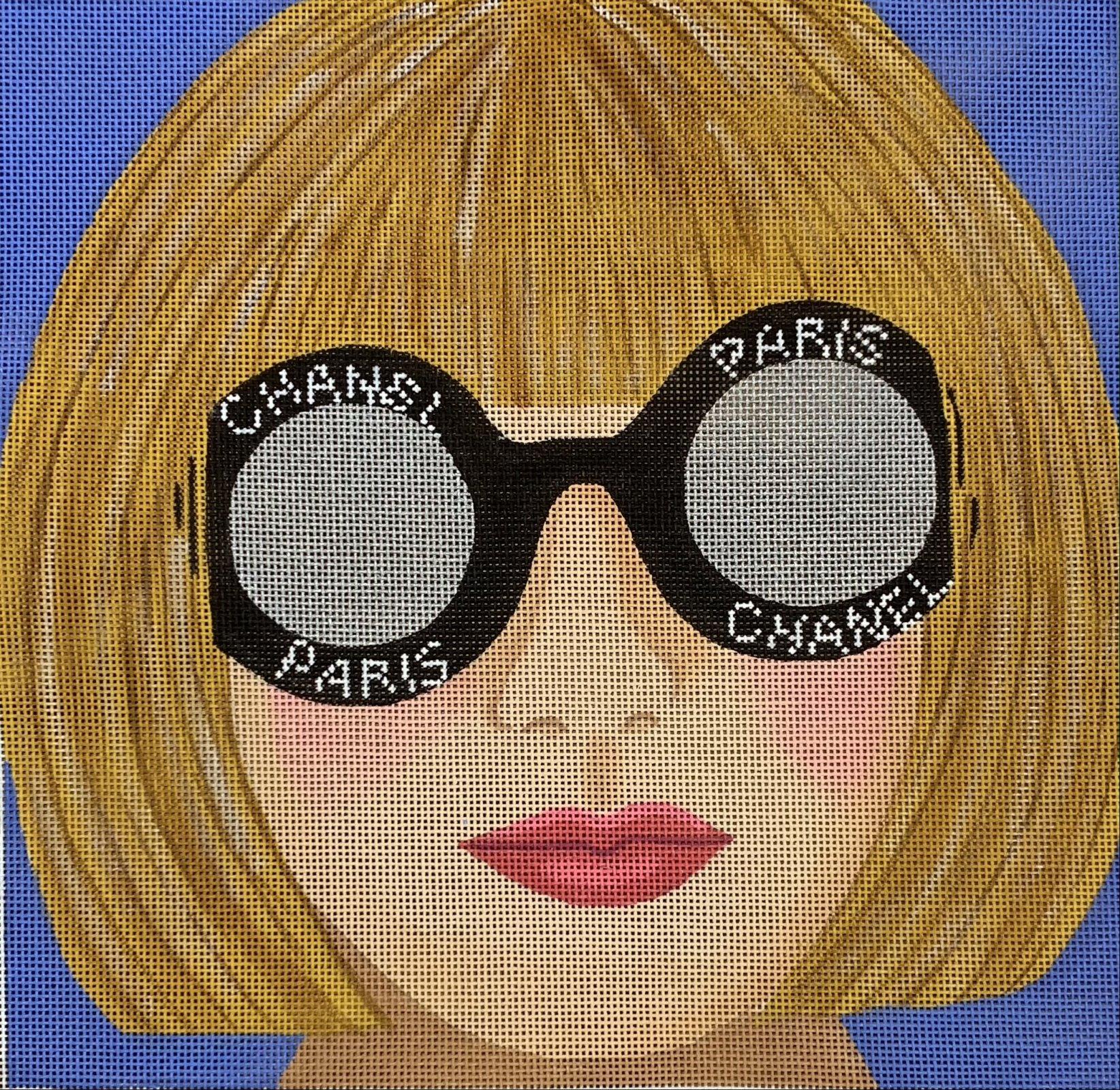 Glamourous Anna w/Chanel Signature Dark Glasses