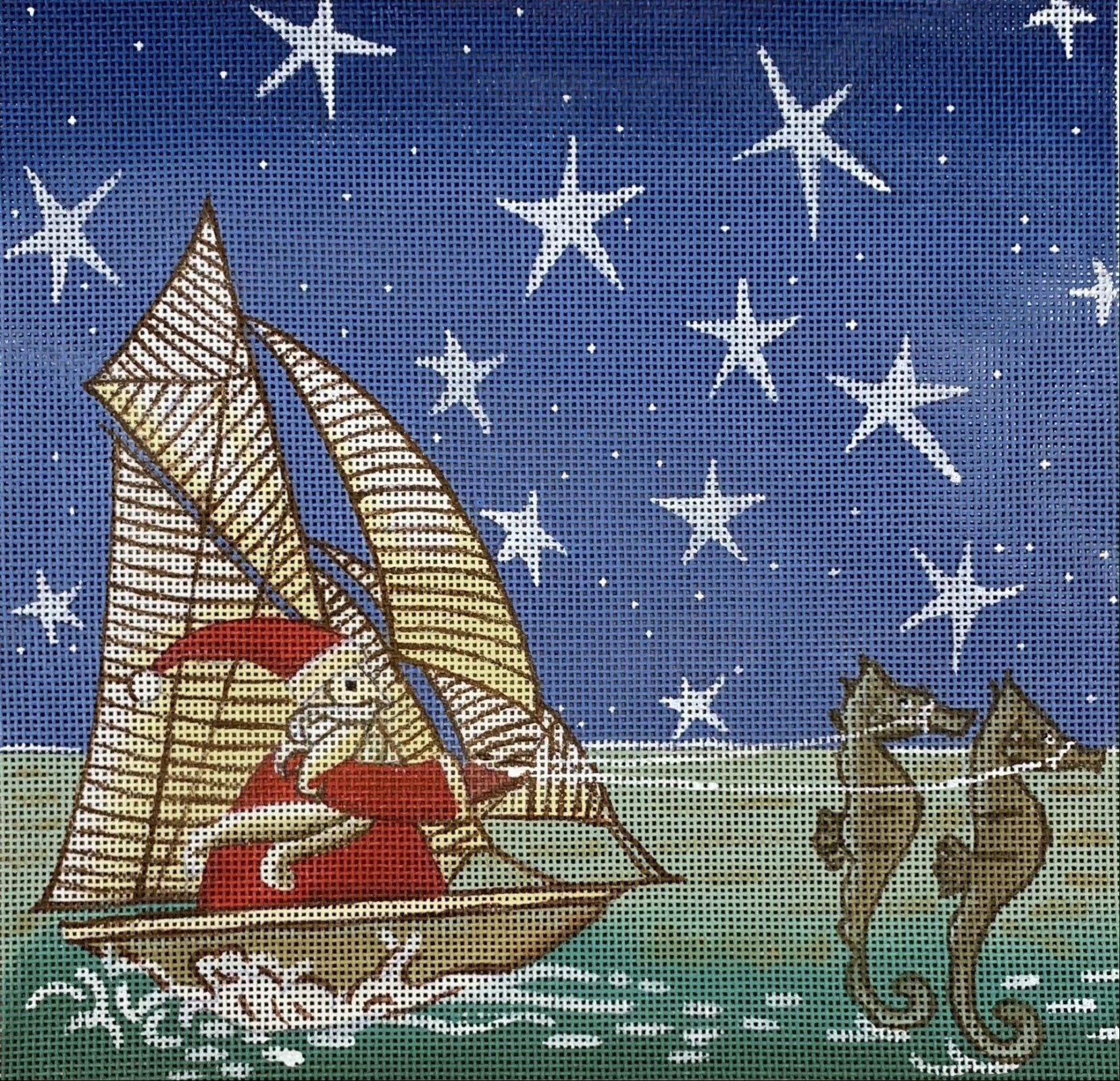 Santa's Seahorse Sleigh