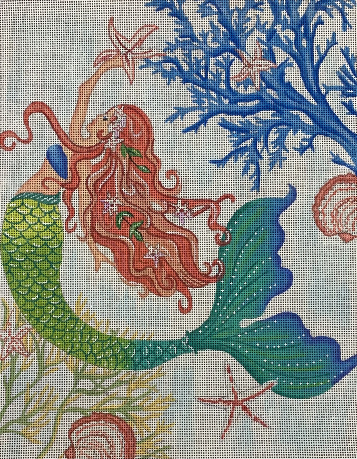 Mermaid with Seastar