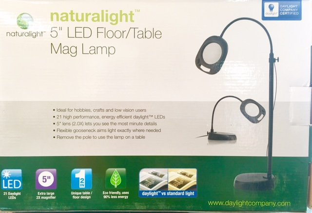 Naturalight LED Floor/Table Mag Lamp