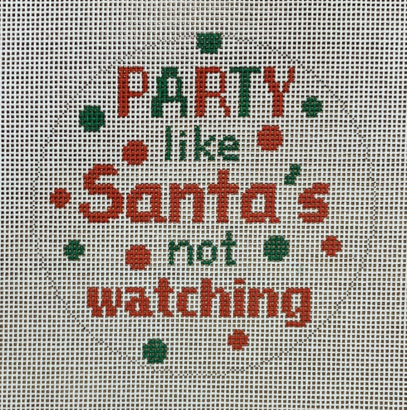 Party Like Santa's Not Watching