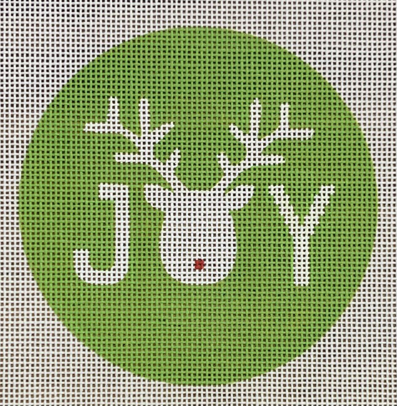 Reindeer Joy Ornament