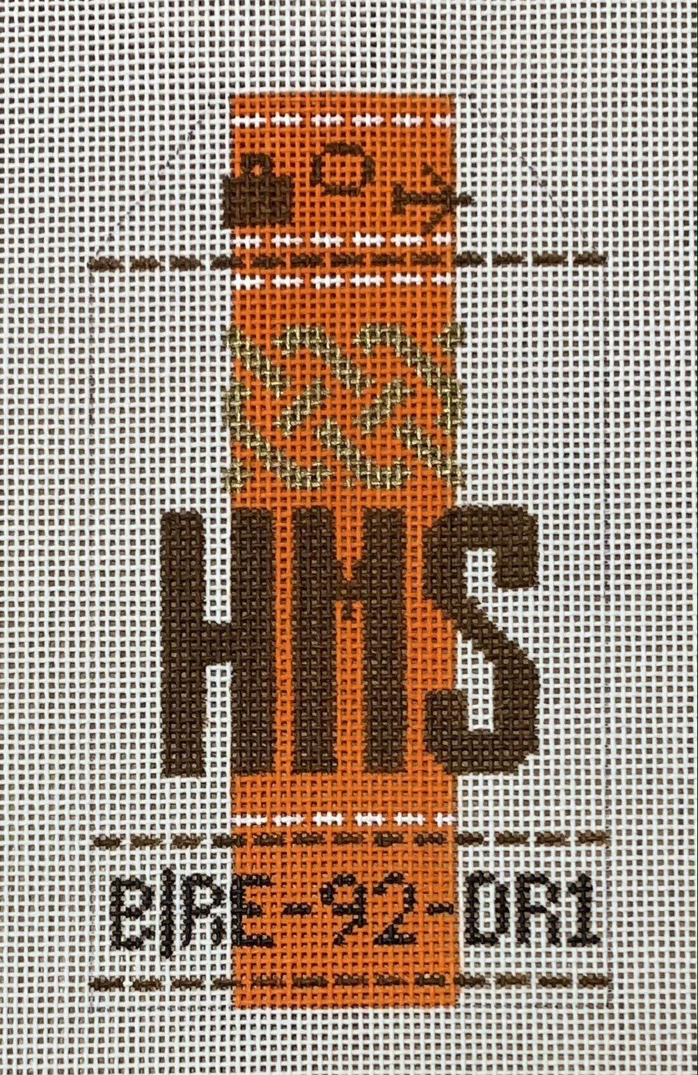 Vintage Luggage Tag - Hermes