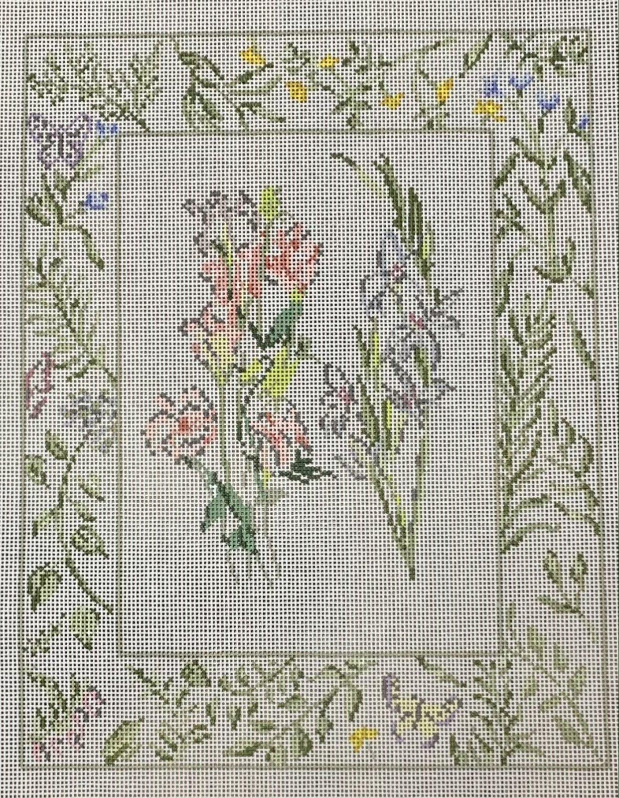 Texas Bluebell & Gladiolus
