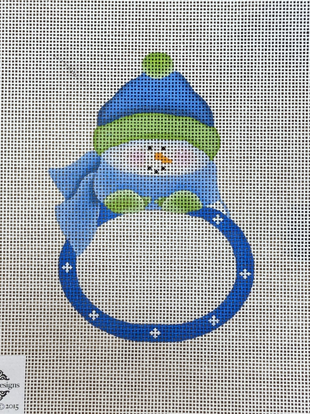 Blue Boy Snowbaby Plaque