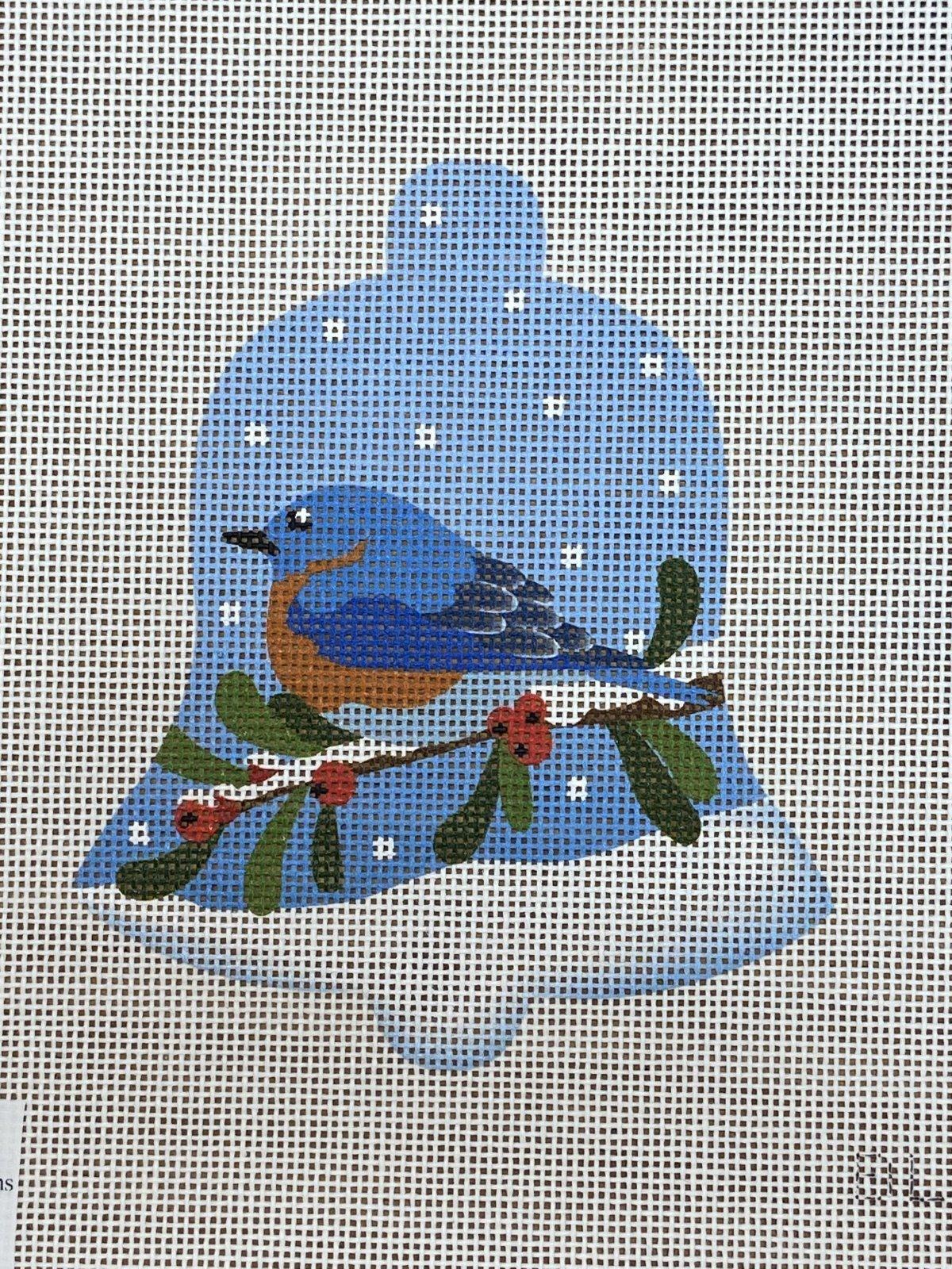 Blue Bird Snow Bell