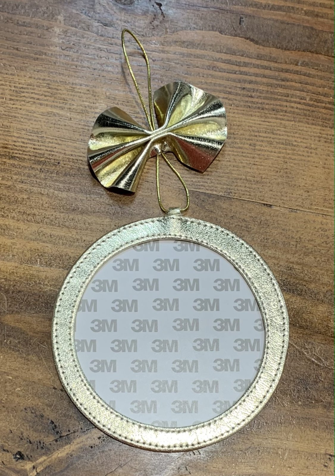 4 Ornament - Gold Foil
