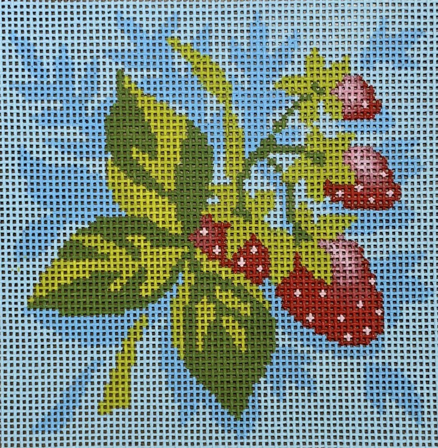 Fruit Square - Strawberries