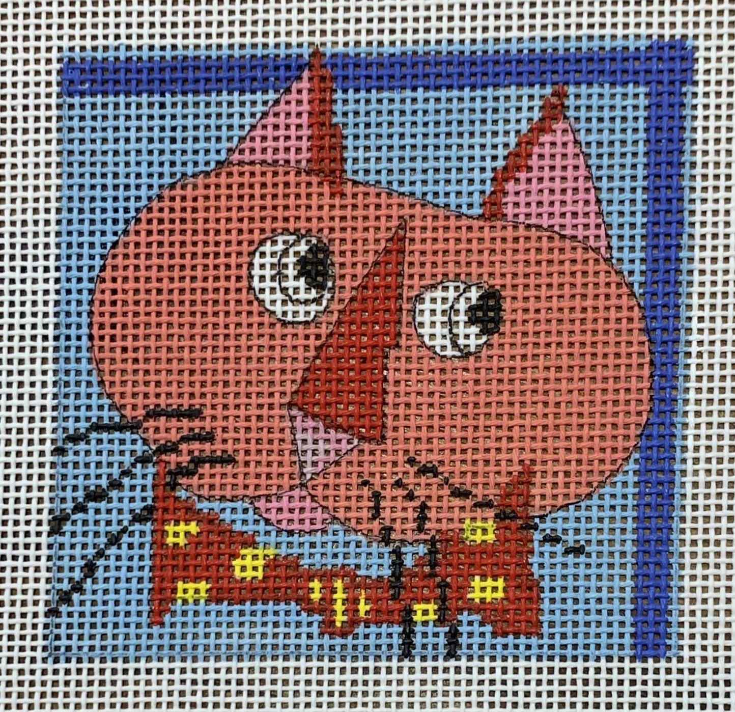 Coaster Cat Dot Tie