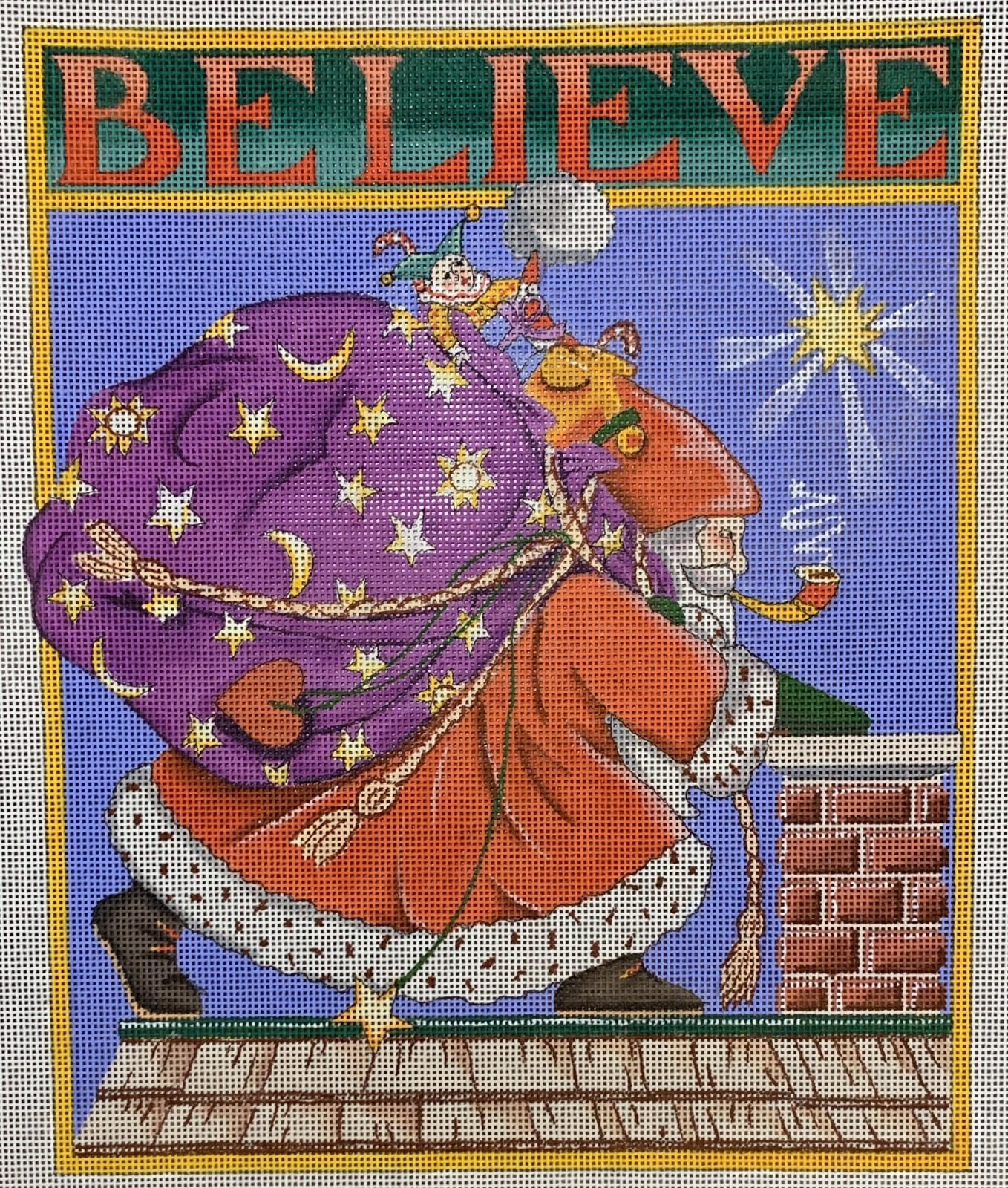 Believe Santa + background