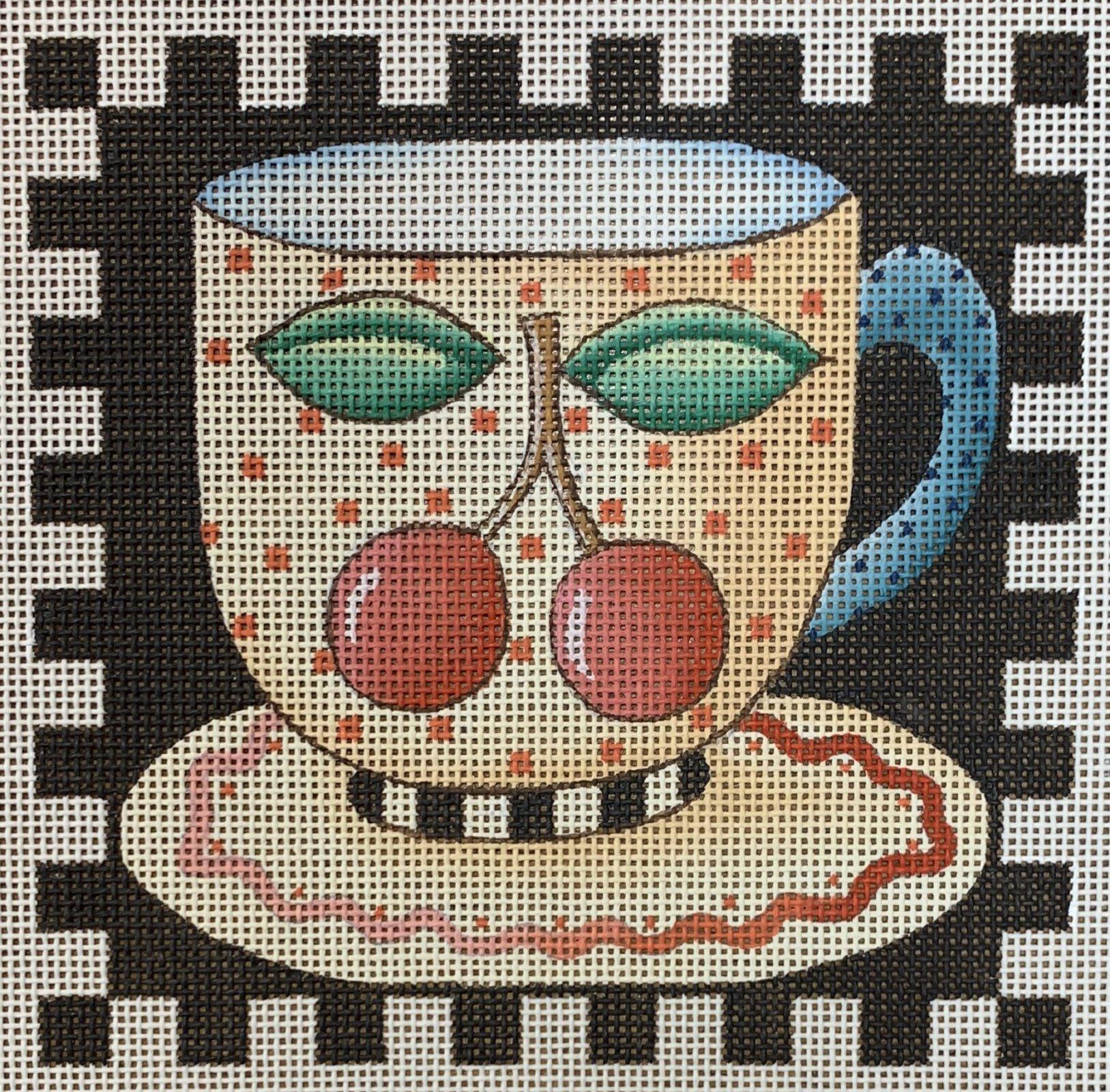 Cherry Teacup