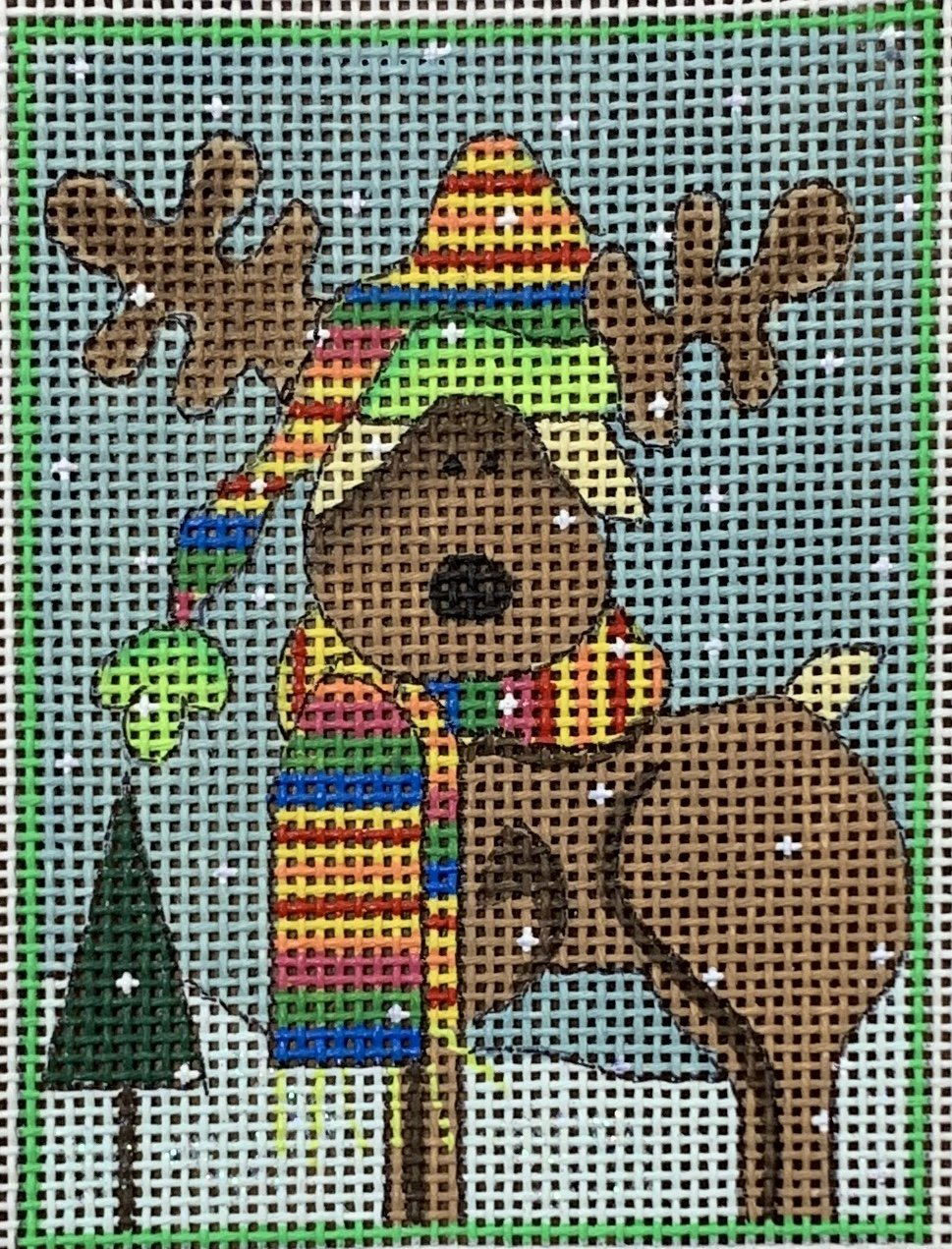 Woodland Christmas - The Moose