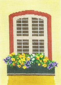 Window - Sunny Flowers