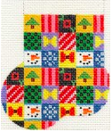Christmas Patchwork Mini-Sock