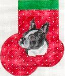 Boston Terrier Mini-Sock
