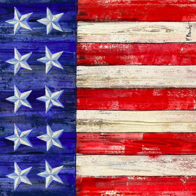 American Flag Coaster II