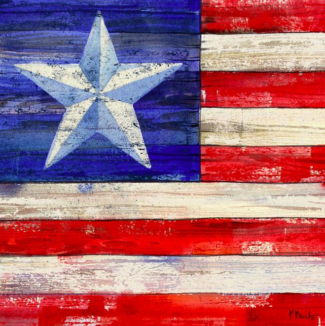 American Flag Coaster III
