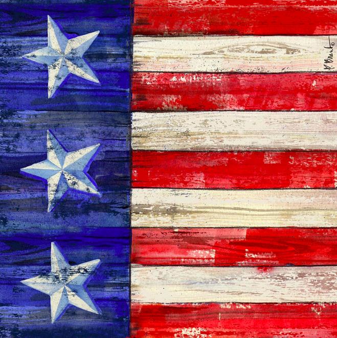 American Flag Coaster IV