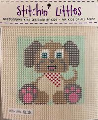 Stitchin' Littles - Bandit the Puppy