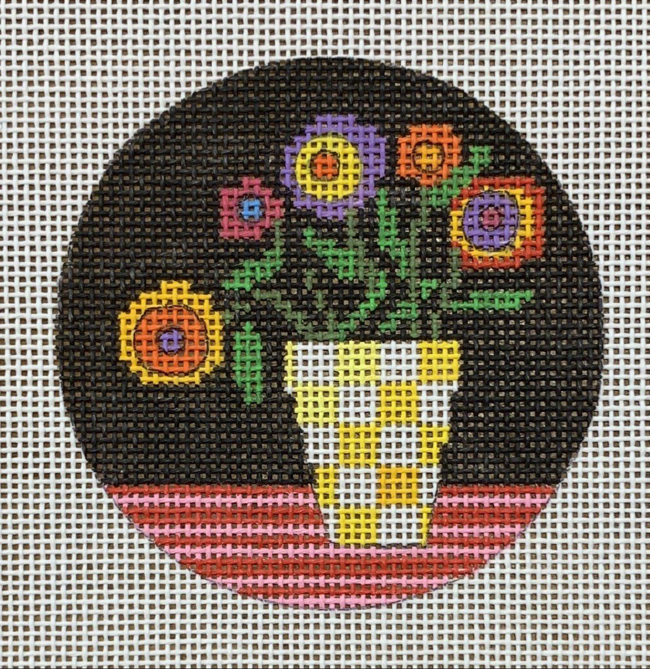 Yellow Vase 3 Round