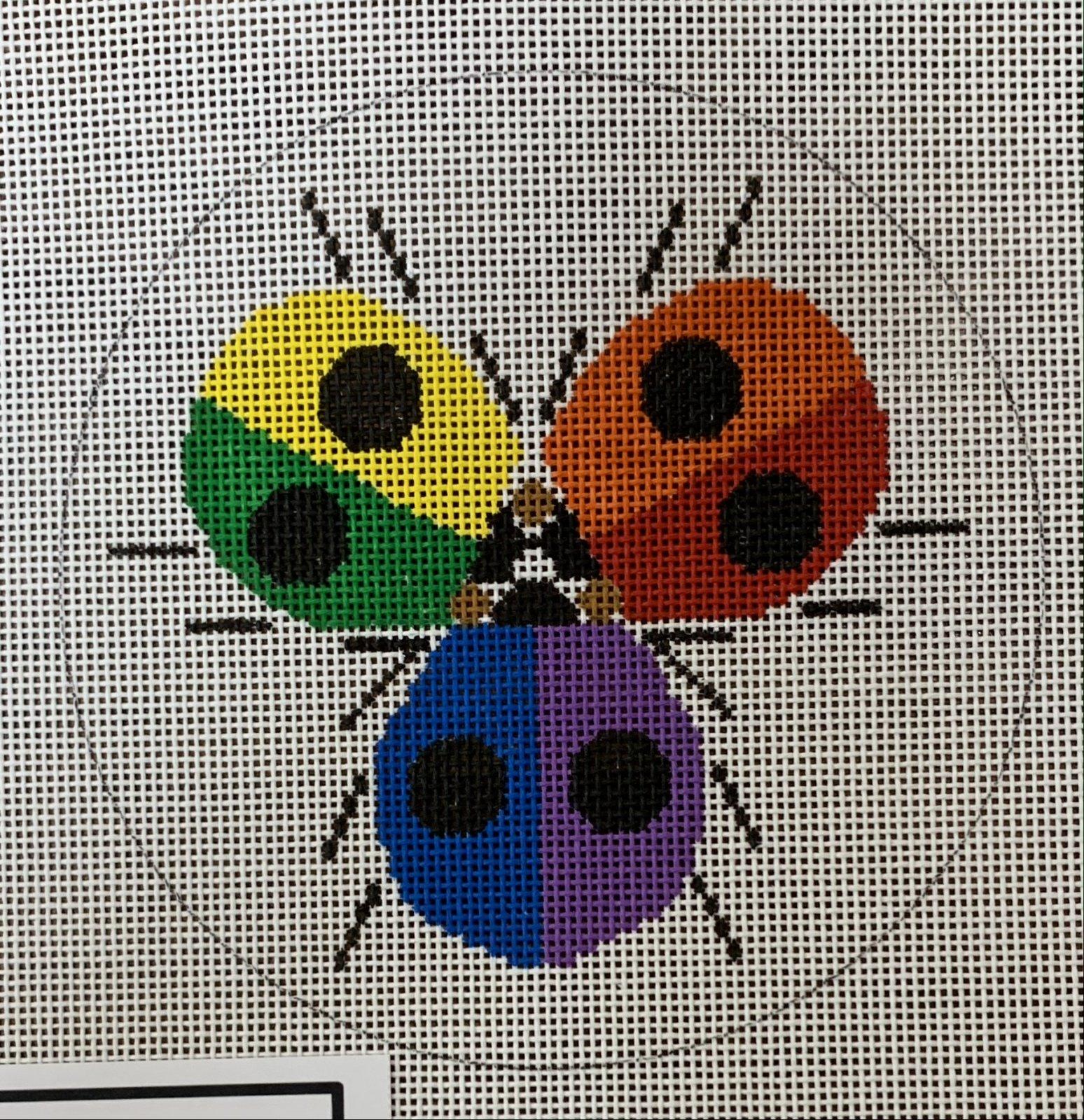 Ladybug Rainbow Ornament