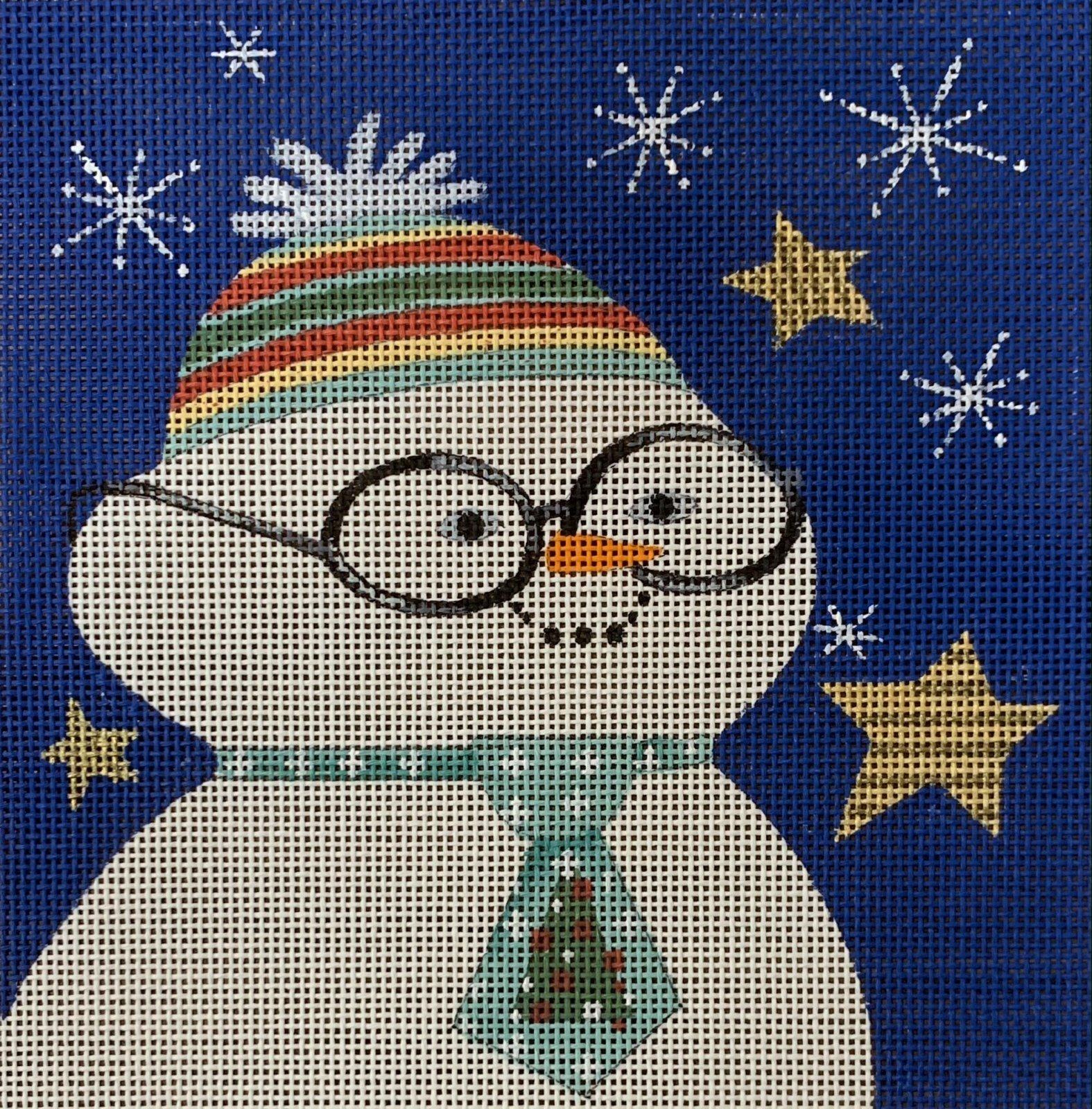Nerdy Snowman