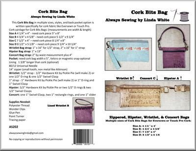 Cork Bits Bag Pattern