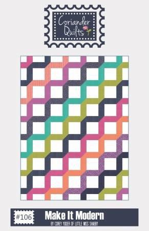 Make it Modern by Coriander Quilts