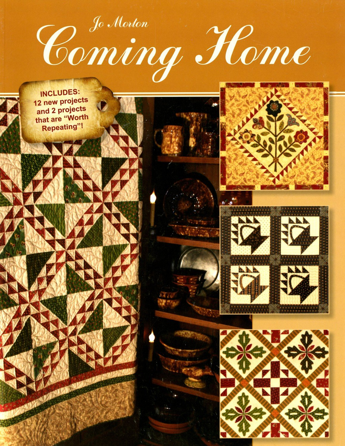 COMING HOME  by Jo Morton Quilts