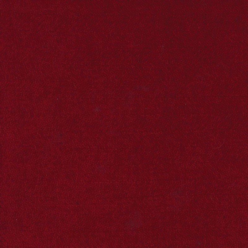 Wool F.Qtr Cranberry