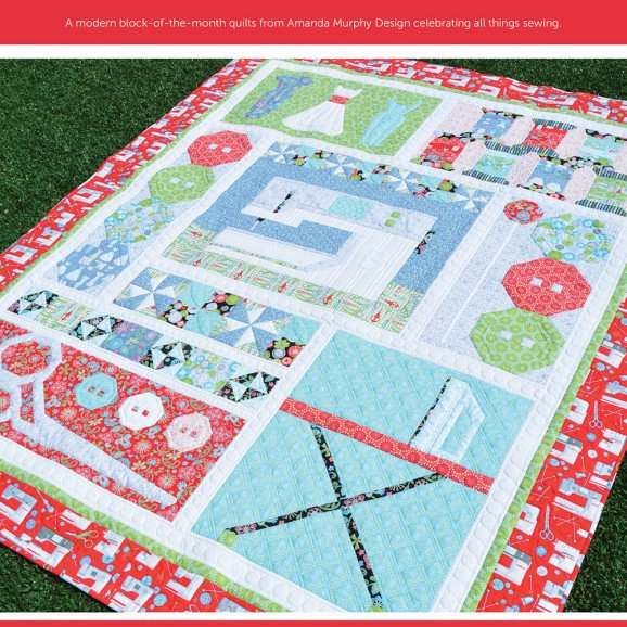 SEWING ROOM SAMPLER KIT RED BORDER