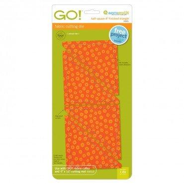 GO! Half Square Triangle-4 Finished Square