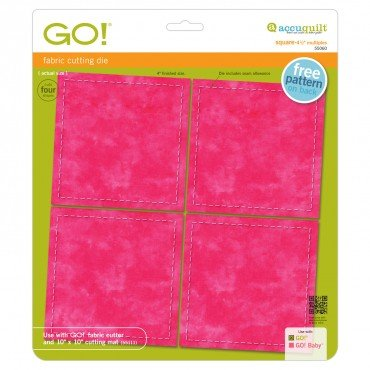 AccuQuilt GO! Squares 4-1/2 Multiples