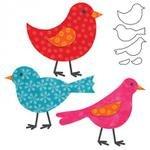 AccuQuilt GO! Birds