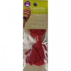 Espadrilles Red Yarn