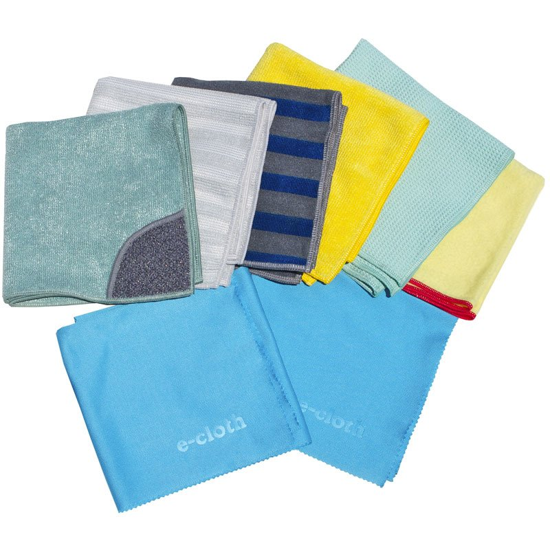 E-CLOTH - Home Cleaning Set 8 Pieces