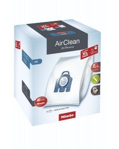 BAGS - MIELE - ALLERGY XL PACK - GN - 8 bags & 1 Hepa