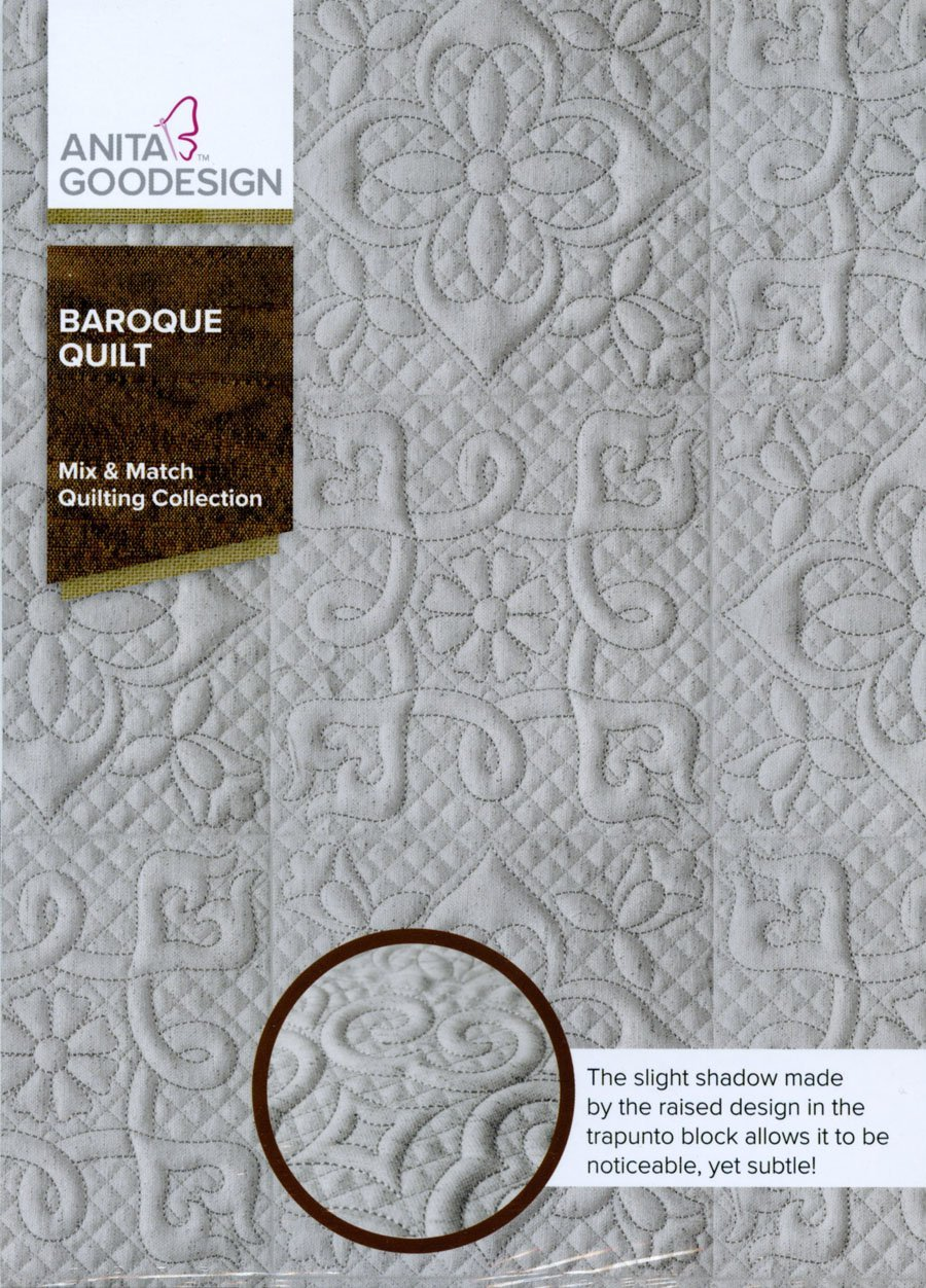 Baroque Quilt - Anita Goodesign Full Collection