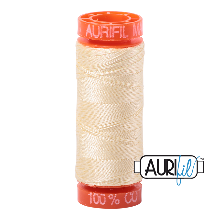 THREAD - AURIFIL 50wt Cotton 220YD - 2110