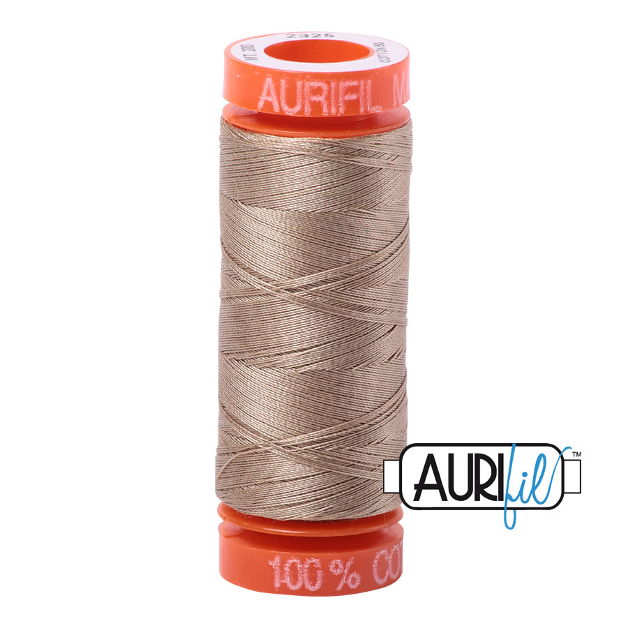 THREAD - AURIFIL 50wt Cotton 220YD - 2325