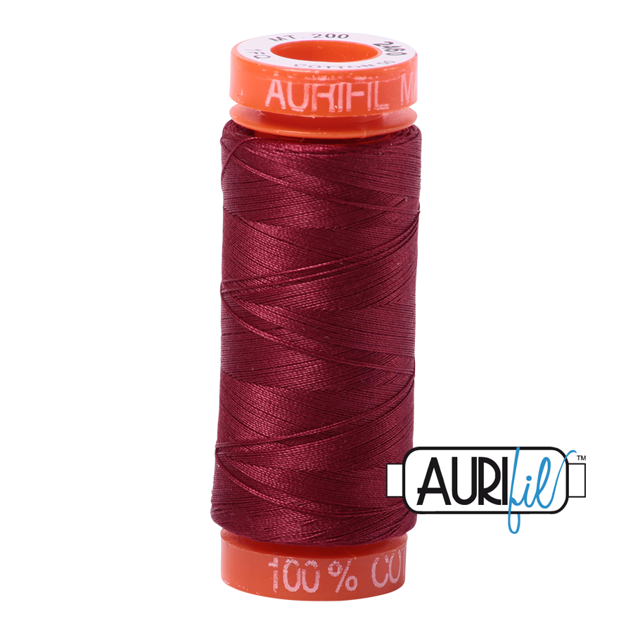 THREAD - AURIFIL 50wt Cotton 220YD - 2460