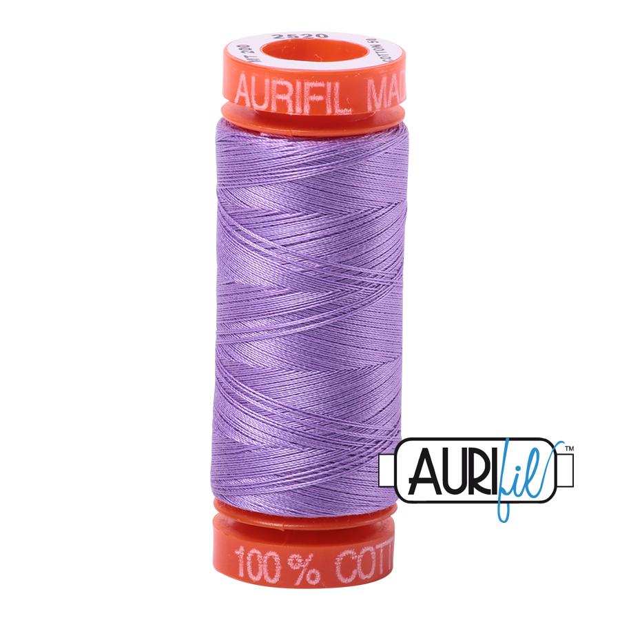 THREAD - AURIFIL 50wt Cotton 220YD - 2520