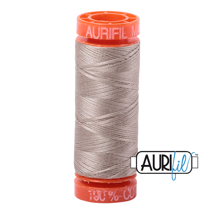 THREAD - AURIFIL 50wt Cotton 220YD - 5011