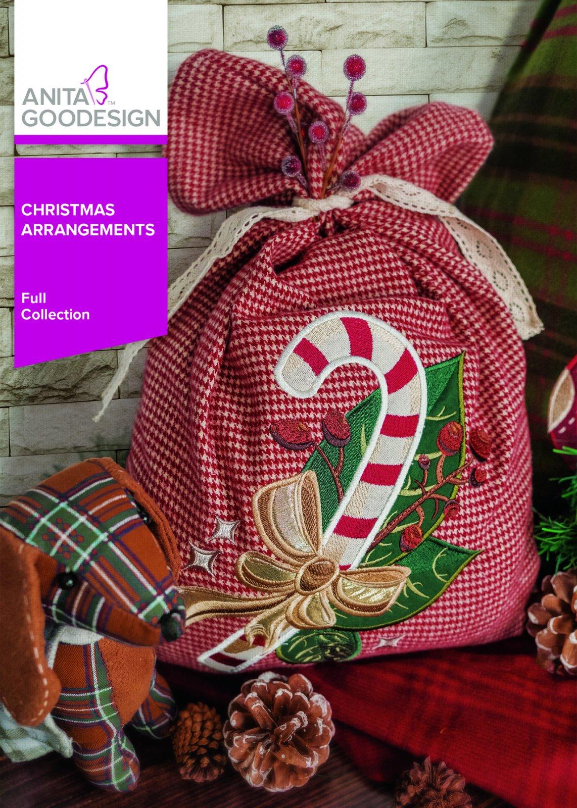 Christmas Arrangements - Anita Goodesign Full Collection