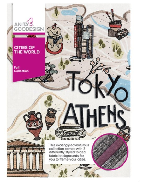 Cities of the World - Anita Goodesign Full Collection