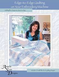 Edge-to-Edge Quilting - Book w/ CD designs