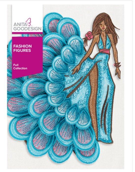 Fashion Figures - Anita Goodesign Full Collection
